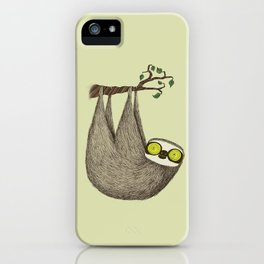 Hypno Sloth iPhone Case