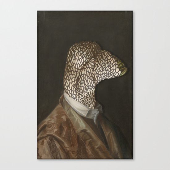 Chicken Head Canvas Print