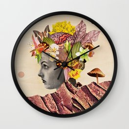She Moves Mountains Original  Wall Clock