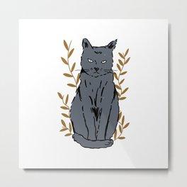 Fiercely Cute Metal Print