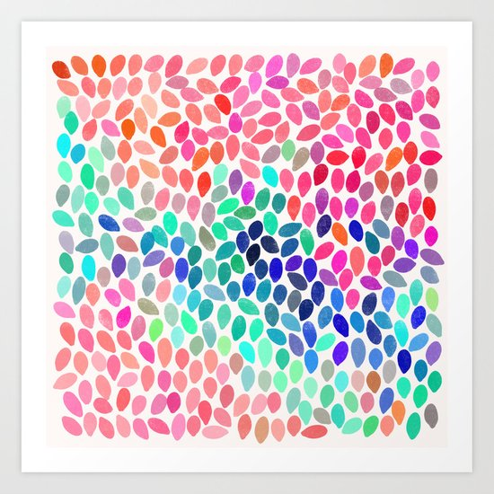 rain 12 Art Print