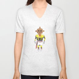 Kachina Doll Unisex V-Neck