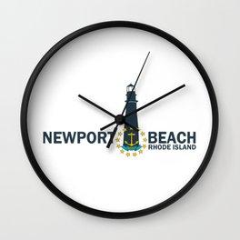 Newport RI Wall Clock