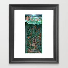 Make Peace With It Framed Art Print
