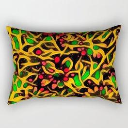 Exotic Fiesta A Rectangular Pillow