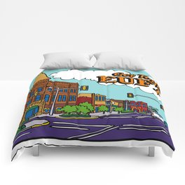 Get Together in Eufaula Comforters