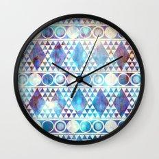 Tribal Storm Wall Clock