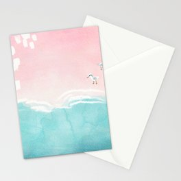 Pink Sands Stationery Cards