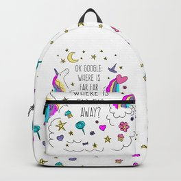 Where Is Far Far Away? Backpack