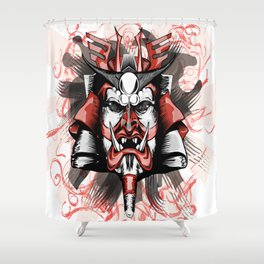 Masck Samurai Shower Curtain