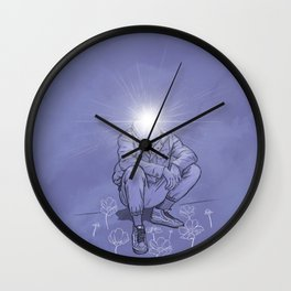 thee Enlightened: Chapter 1 - Good Vibrations Wall Clock