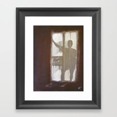 Shadowman Framed Art Print