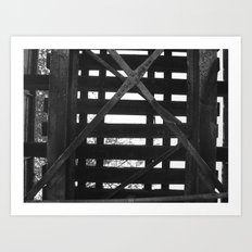 UNDERTHERAIL Art Print