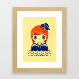 Navy serie 01 Framed Art Print