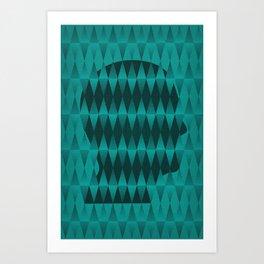 'Piece of Mind' - Abstract Print Art Print