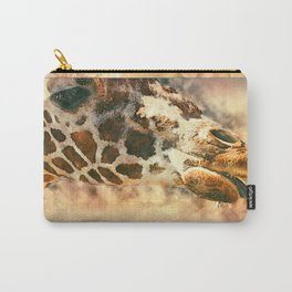 Licking Giraffe Modern Grunge Carry-All Pouch