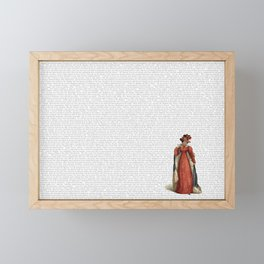 Pride & Prejudice Framed Mini Art Print
