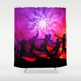 Frienship Shower Curtain