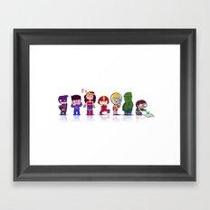 Super Babies Framed Art Print