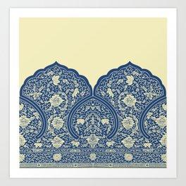 India Pattern 5 Art Print