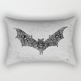 Swirly Bat Rectangular Pillow
