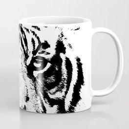 Black & White Tiger Coffee Mug
