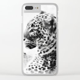 Purrfect Clear iPhone Case