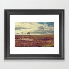 The Western Plains Framed Art Print