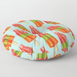 Popsicle Pattern - Spicy Bomb Floor Pillow