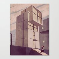 kobe Canvas Prints featuring House in Kobe by Giordano Poloni
