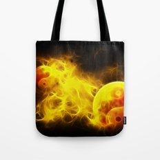 Karma Flames Tote Bag