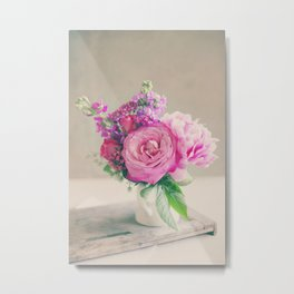 Midday Bouquet Metal Print