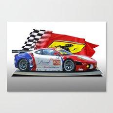 Ferrari F430 Racecar Canvas Print