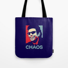 'Chaos' Ian Malcolm (Jurassic Park) Tote Bag