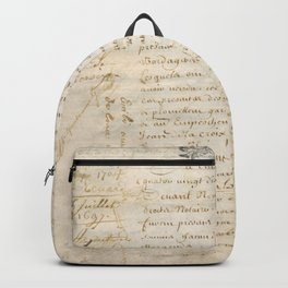 French Contract 1697 Backpack