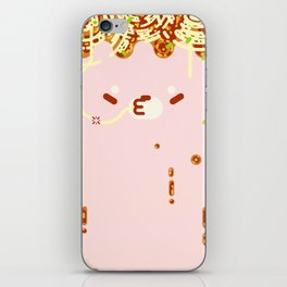 Slurping Time iPhone Skin