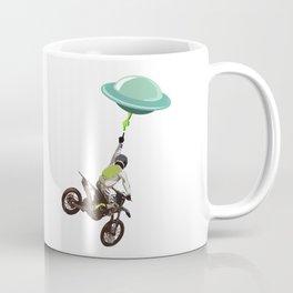 Motocross alien Coffee Mug