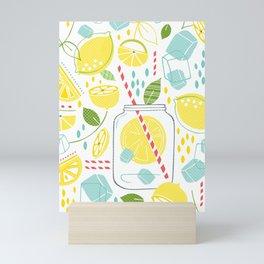 Summer Sippin' Mini Art Print