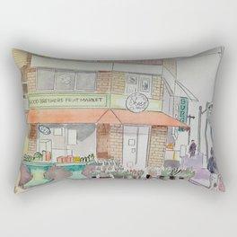 Pape & Bloor Toronto Rectangular Pillow