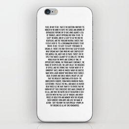 Hamlet iPhone Skin