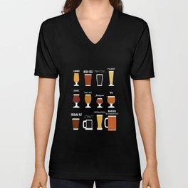 Craft Beer Beer Brewer Ipa Beer Microbrewing Unisex V-Neck