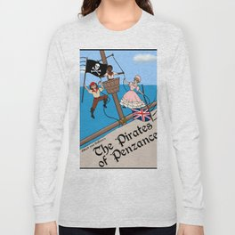 Pirates of Penzance Poster Long Sleeve T-shirt