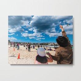 Bondi Beach, Sydney (Festival of the Winds) Metal Print