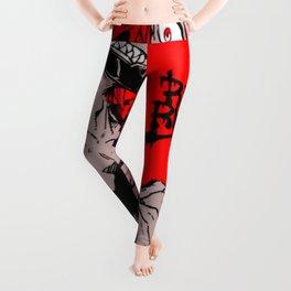 RED RIOT / KIRISHIMA EIJIRO - MY HERO ACADEMIA Leggings