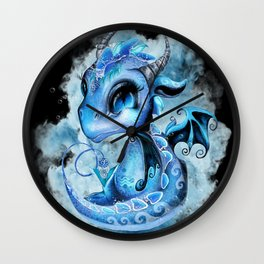 Lil DragonZ - Elements Series - Water Wall Clock