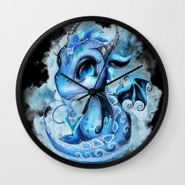 Lil DragonZ - Elements Series - Water Wall Clock