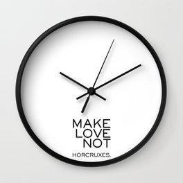 make love Wall Clock