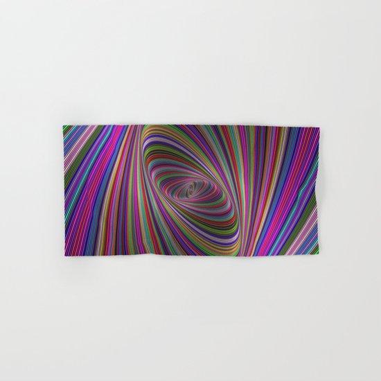 Psychedelic colors Hand & Bath Towel