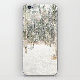 Winter Woods iPhone Skin