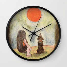 Me and You Wall Clock